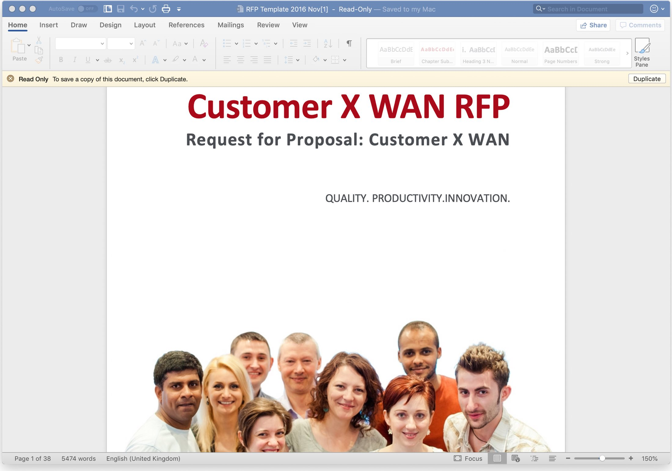 SD WAN RFP 2
