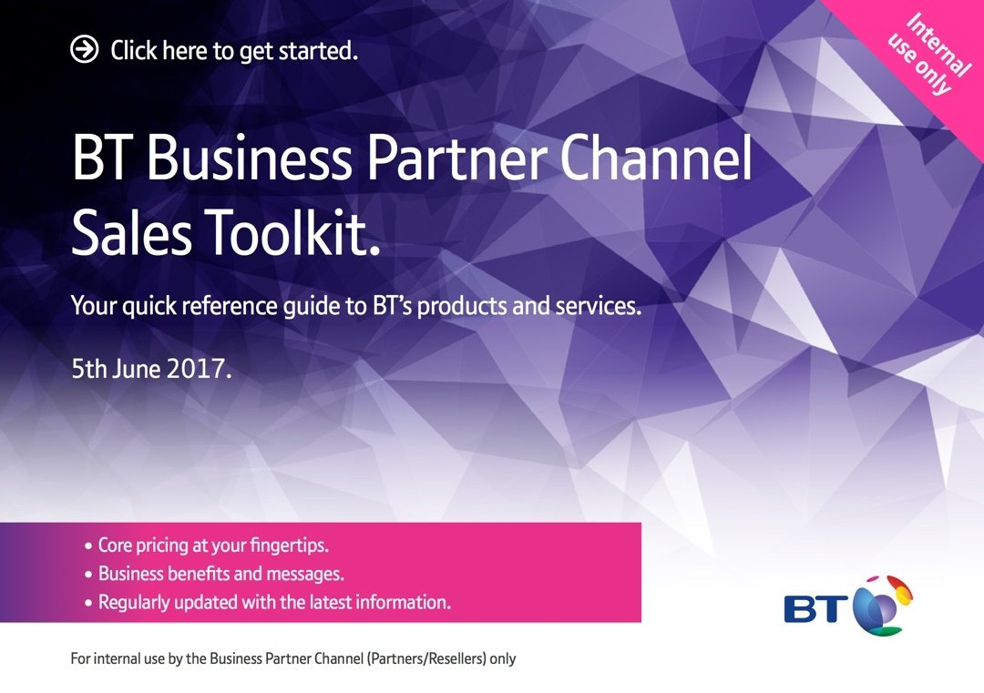 Authorised Supplier for BT replacing Reseller title