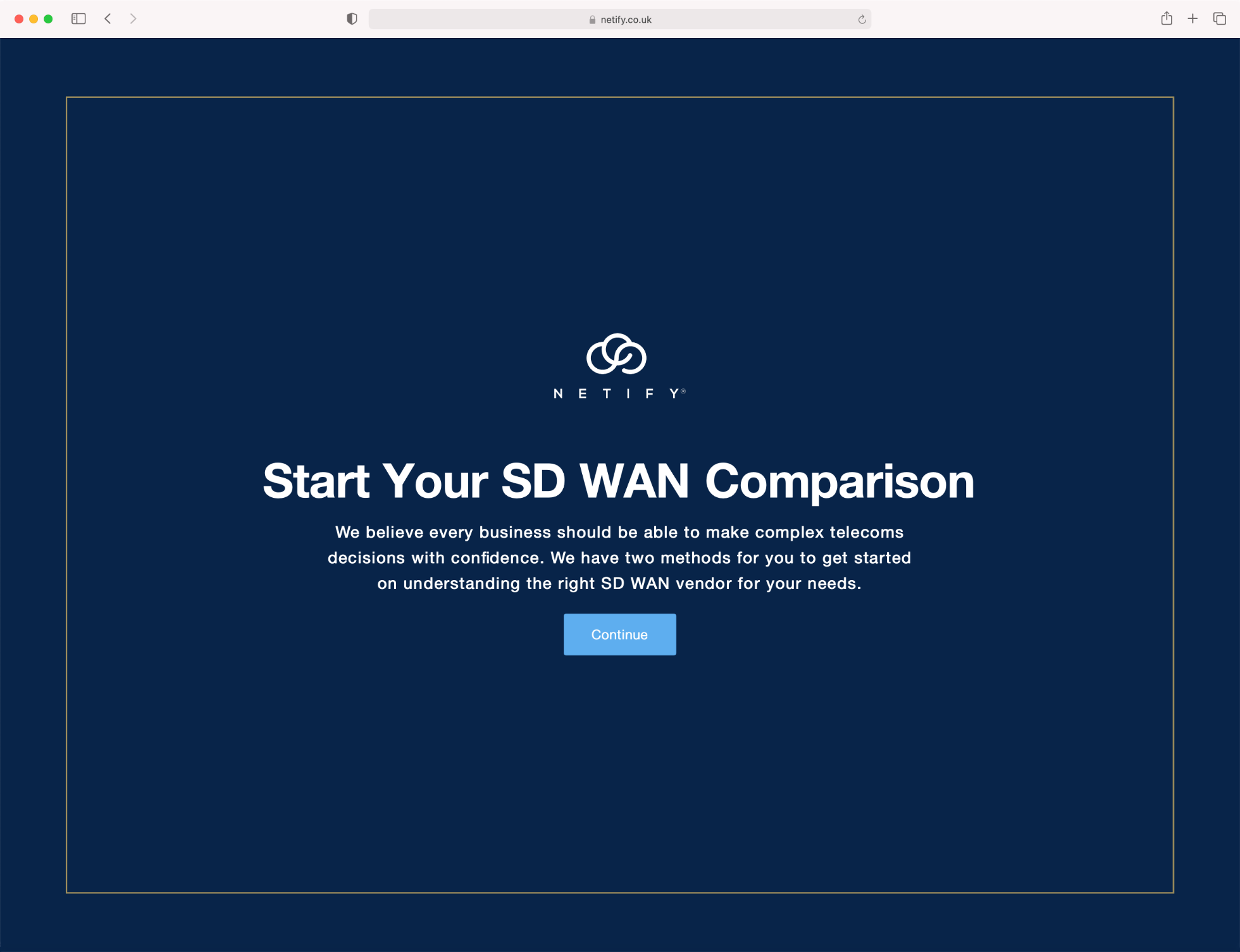 News Netify have launched the SD WAN assessment tool 2.0