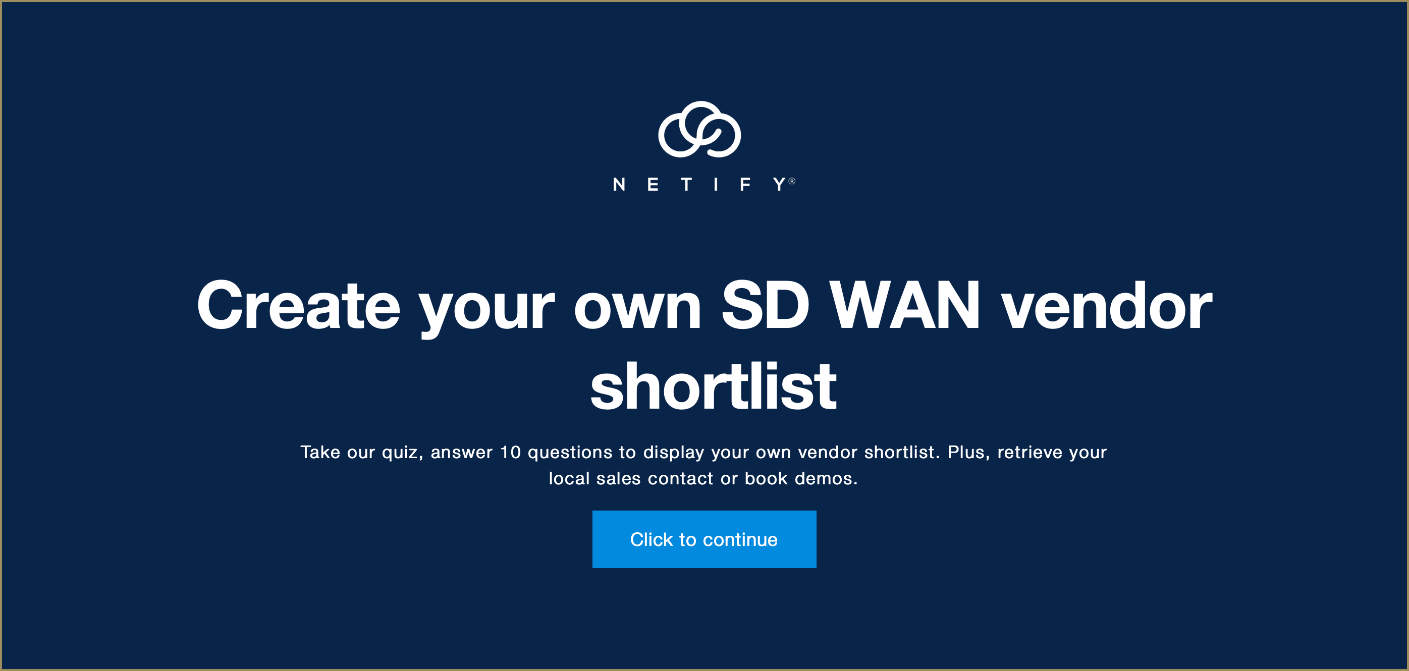 How to compare SD WAN solutions vs your needs