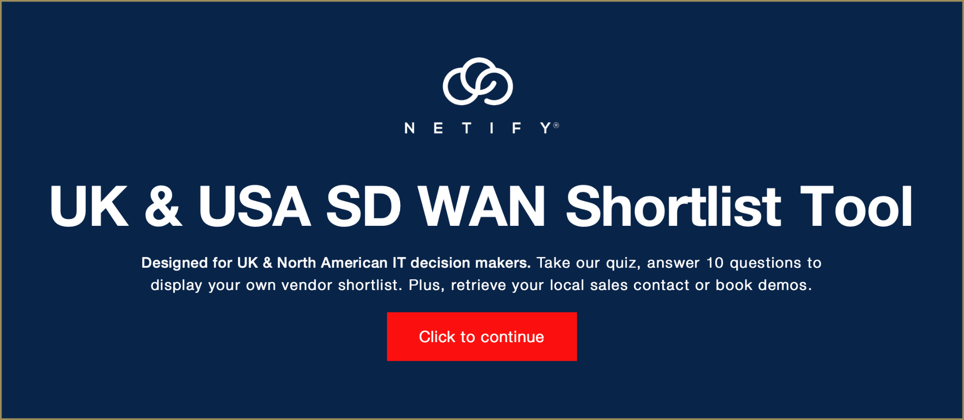Which vendors offer the 10 top UK SD WAN solutions?